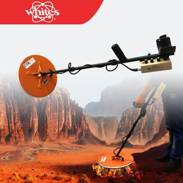 جهاز كشف الذهب الخام تي دي اي