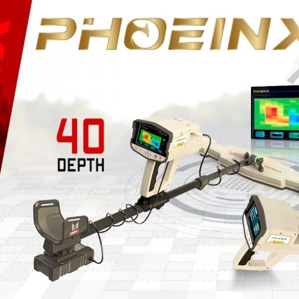 جهاز كاشف المعادن التصويري ثلاثي الابعاد فينيكس 2021