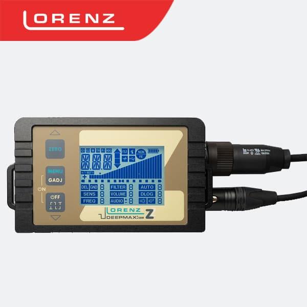 lorenz deepmax z2 جهاز كشف الذهب لورنز ديب ماكس زد2