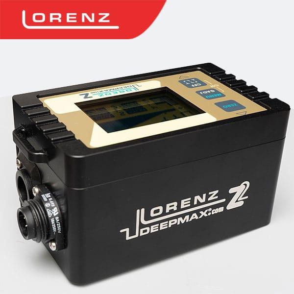 lorenz deepmax z2 جهاز كشف المعادن لورنز ديب ماكس زد2